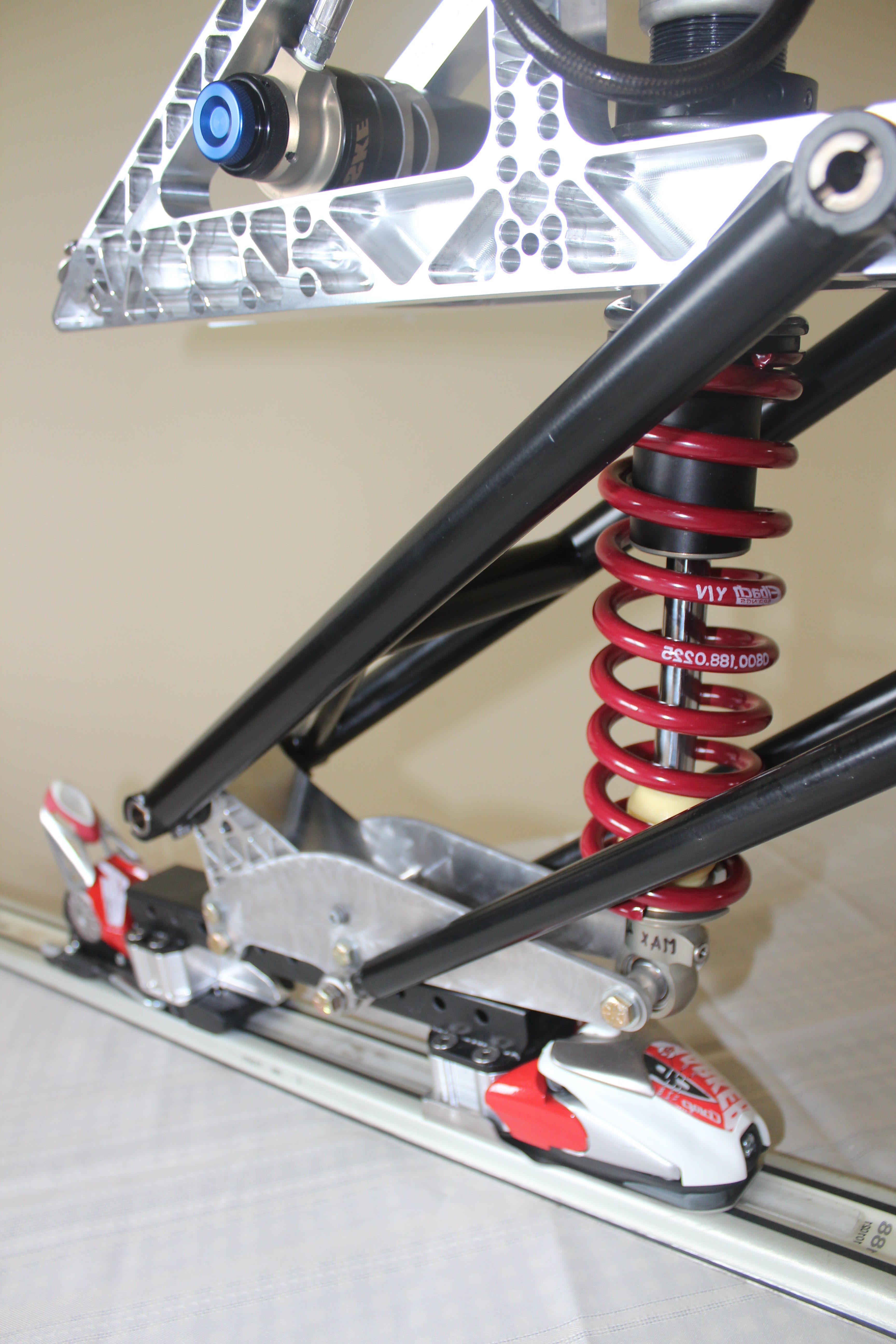 Coil over shock