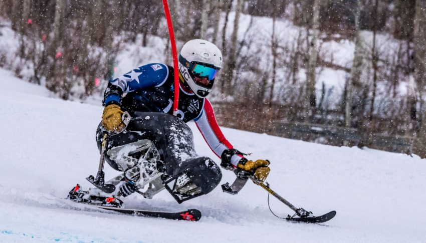 Trevor Kennison. Photo by The National Ability Center
